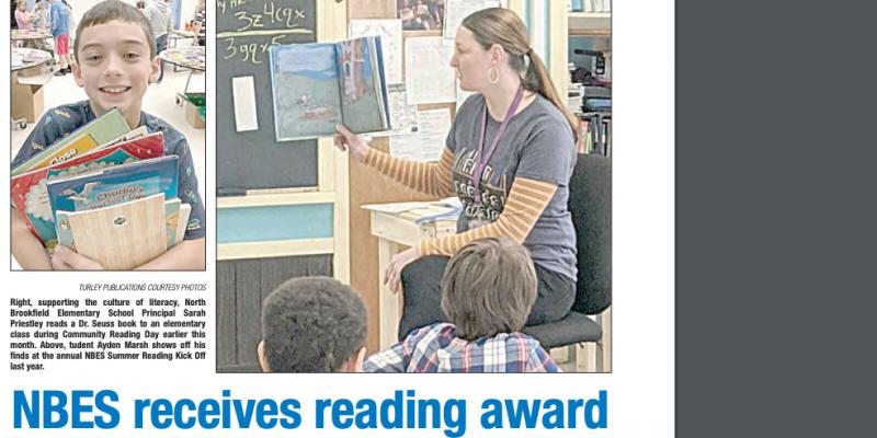 MRA Exemplary Reading Award